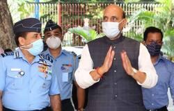 <p>Rajnath Singh, China dispute, India China dispute, Indian Air Force, Indian Army, India border, China border<br /> &nbsp;</p>