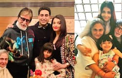"""<p>According to another report, by Outlook Pakistan, the headline read: Aishwarya Rai blamed her rumoured """"marital woes"""" for 'alleged suicide'.</p>"""