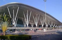 <p>In a bid to keep the coronavirus at bay, the temperature of air conditioning units at Bengaluru's Kempegowda International Airport has been set higher by 2 degrees than usual.<br /> &nbsp;</p>