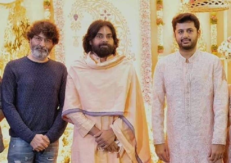 Pawan kalyan Attends Nithin's Ceremony