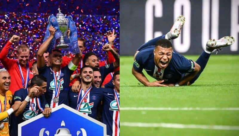 PSG can't celebrate their 2nd trophy of the season as Mbappe's injury looks critical