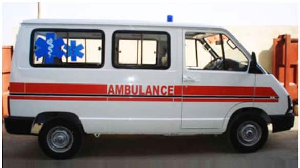 Patient died in ambulance accident