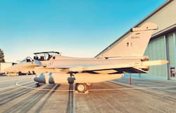 <p>The first batch of five Rafale jets on Monday took off from France for India, officials said. The first squadron of the Rafale jets will be stationed at Ambala air base.</p>