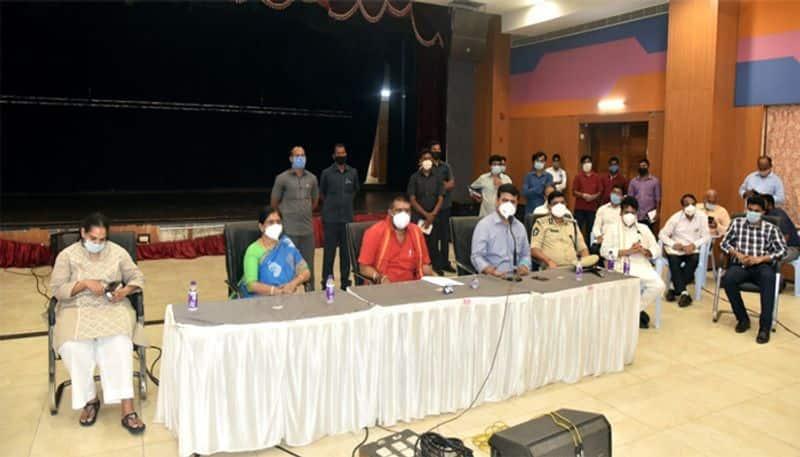 minister avanti srinivas reacts corona outbreak in ap