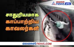 <p>Railway Officer's saved a man's life</p>