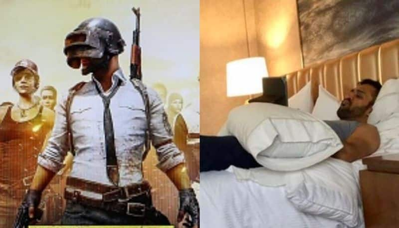 Even in his sleep, Dhoni talked about the PUBG game, said sakshi spb