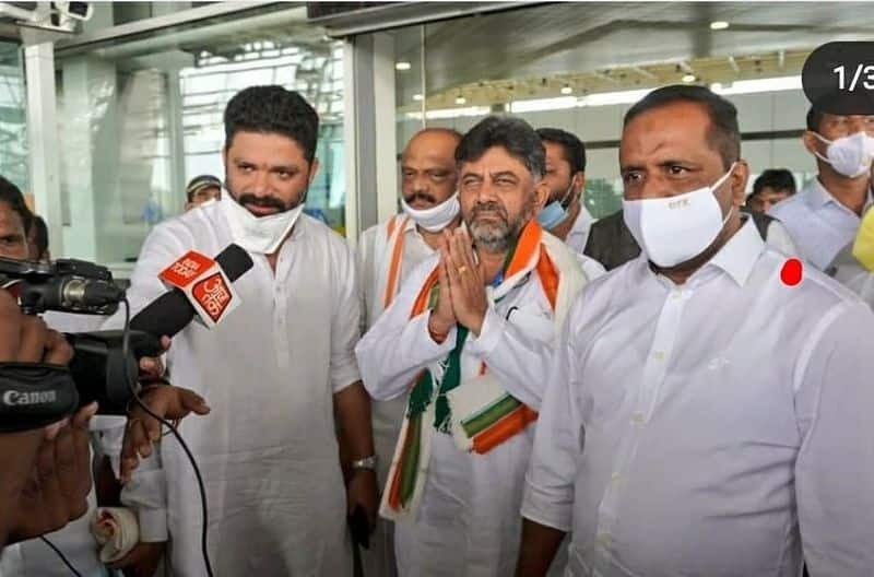 Bengaluru violence: BJP leaders hit out at Congress leaders for politicisation-cdr