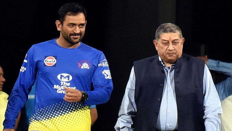 n srinivasan reveals the reason behind csk been very successful under dhoni captaincy