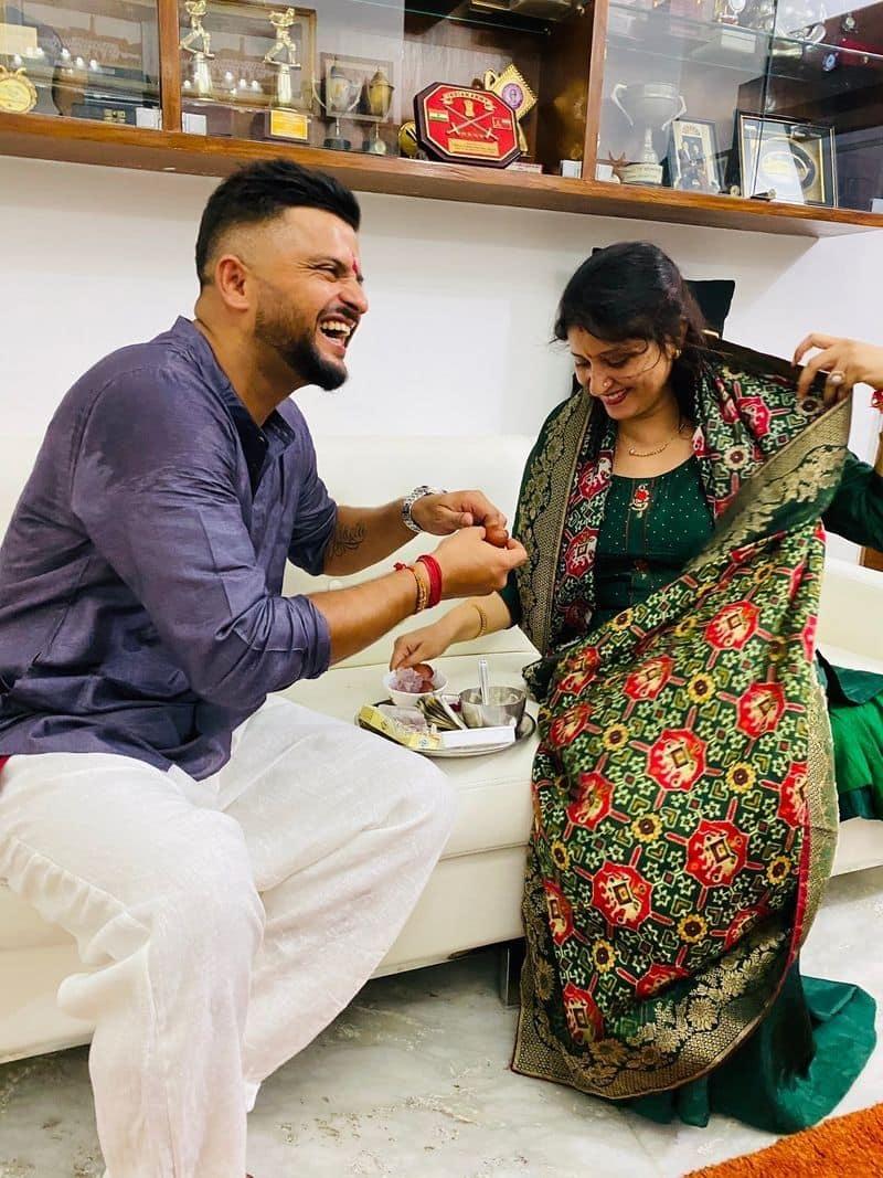 Indian cricket team member share rakshabandhan celebration pictures ASA