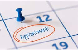 <p>appointment</p>