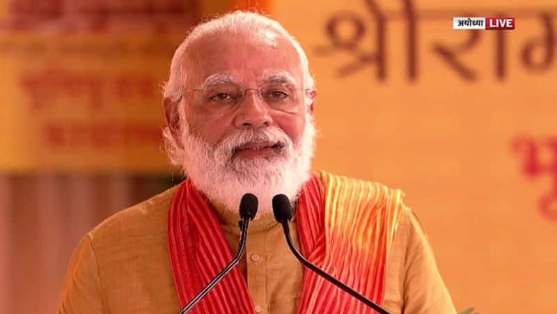 PM Modi said, Ram Janmabhoomi will be free and now Ramlala will not live in sackcloth