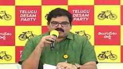 ysrcp activists attack on tdp leader kommareddy pattabhi house