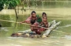 <p>बिहार में उफनाती नदियों ने कहर ढा दिया है। बाढ़ से करीब 4 लाख लोग प्रभावित हुए हैं, &nbsp;वहीं करीब एक लाख परिवारों को बाढ़ से घर छोड़ना पड़ा है। बाढ़ की तबाही का सबसे खौफनाक मंजर बैकुंठपुर के चिउतहा में देखने को मिल रहा है जहां पक्की सड़कें बाढ़ में बुरी तरह ध्वस्त हो गयी हैं</p>