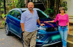 <p>fashion designer, and a television presenter has recently bought a brand-new Tata Nexon EV.&nbsp;Mandira Bedi along with her husband were&nbsp;snapped with her latest possession.</p>
