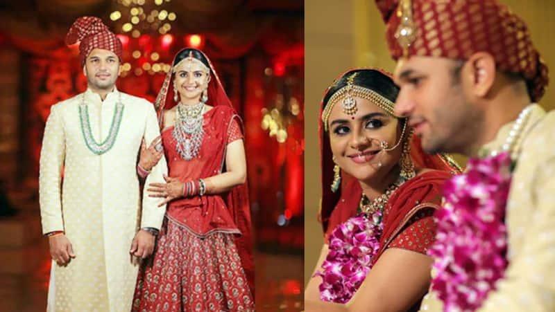 Diya Aur Baati Hum actor Prachi Tehlan ties the knot with Rohit Saroha, shares photo from wedding