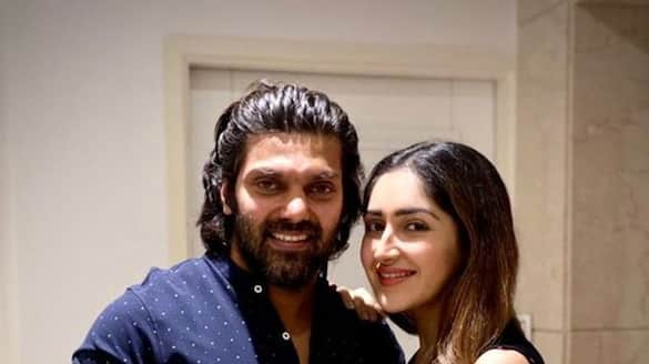 Actor arya and sayeesha blessed with a baby girl