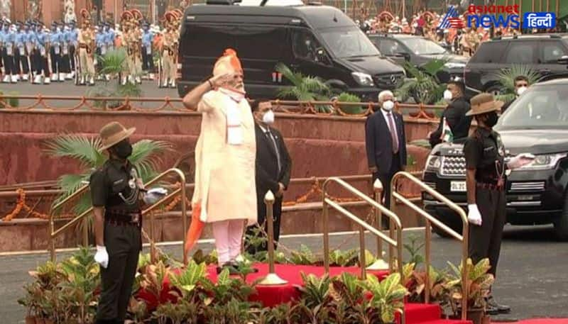 PM Modi will address the country for the seventh time today from the ramparts of the Red Fort