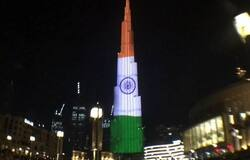 <p>Indian Flag on Burj Khalifa</p>