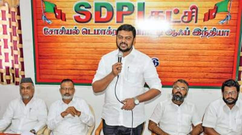 SBI to build Ram temple Bank Raised Funds ... SDPI Shock Accusation