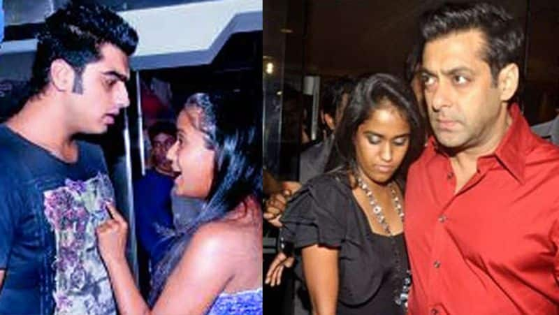 """<p style=""""text-align: justify;"""">Arjun Kapoor and Salman Khan's sister Arpita Khan were in a relationship for almost two years. Their relationship was not a secret one in the Bollywood film industry.</p>"""