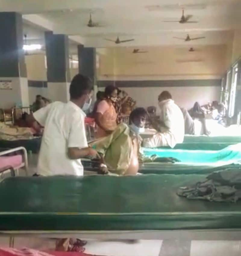 The employee who pushed the patient down from the wheelchair in the hospital, Suspended Collector's Order
