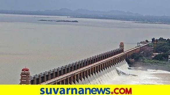 Increased inflow To Tungabhadra Dam at Hosapete grg