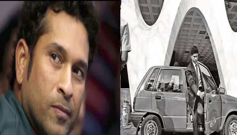 Sachin Tendulkar asks fans to find his first car Maruti 800