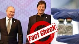 <p>Fact Check, Did Russia gift 1 million doses of Covid vaccine to Pakistan</p>