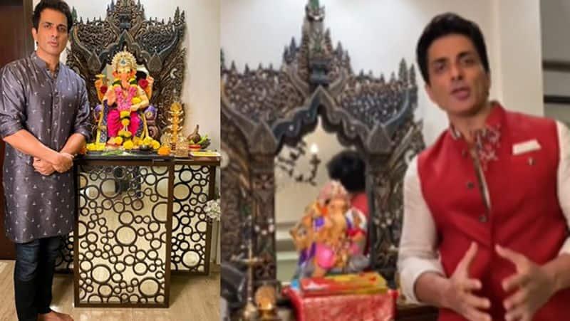 Ganesh Puja at kareena kapoor house and sanjay dutt house BJC