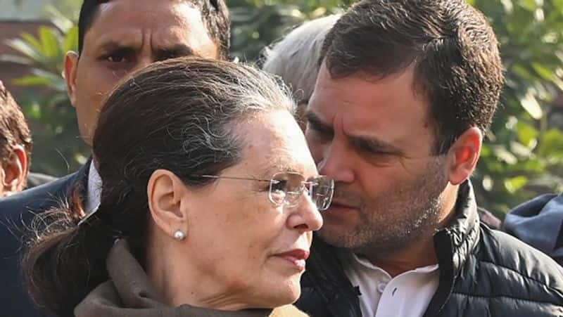 Was it all fixed in Congress, Sonia will be the interim president after the marathon meeting of seven hours