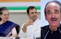 <p>Sonia Gandhi, Gulam Nabi Azad</p>