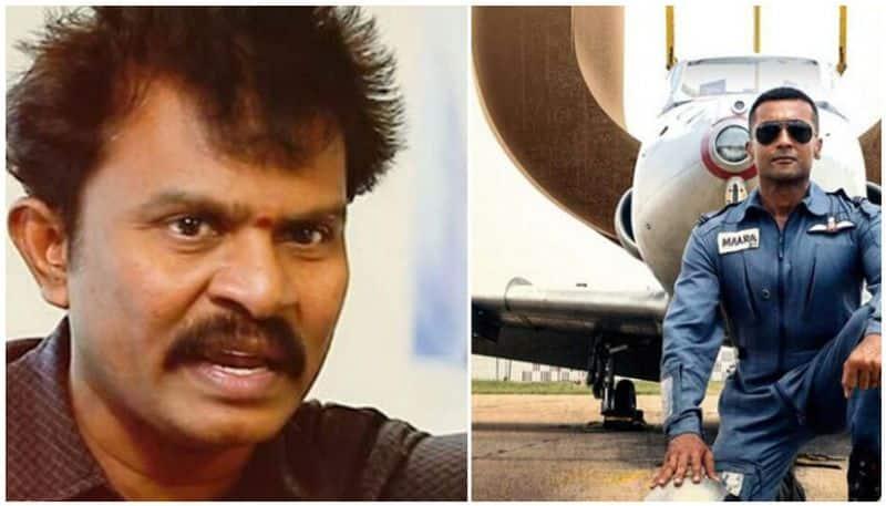 barathiraja support surya soorarai potru movie issue