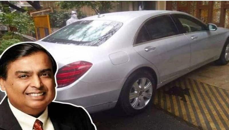 Mukesh Ambani get a new Mercedes S600 Guard
