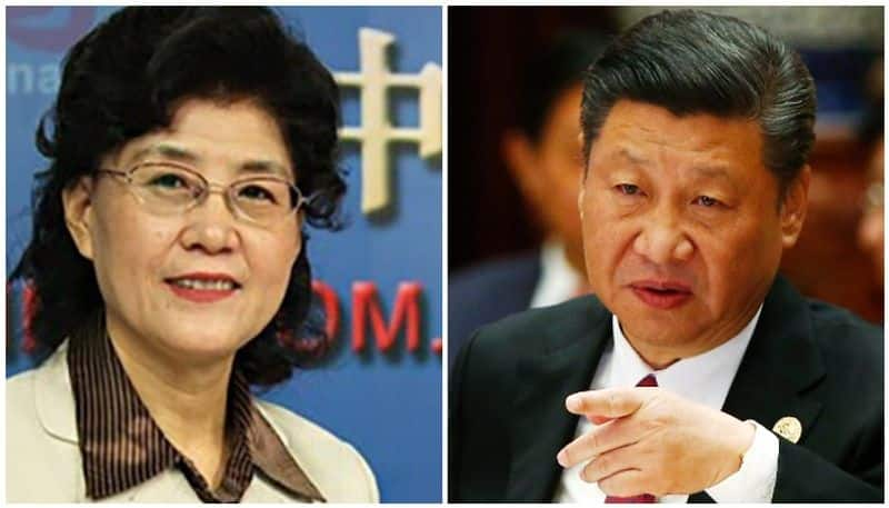 What did China do to the rebel woman communist leader Cai Xia who called President Xi Jinping a Mafia Boss
