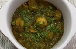 <p>Coriander Pepper Chicken</p>