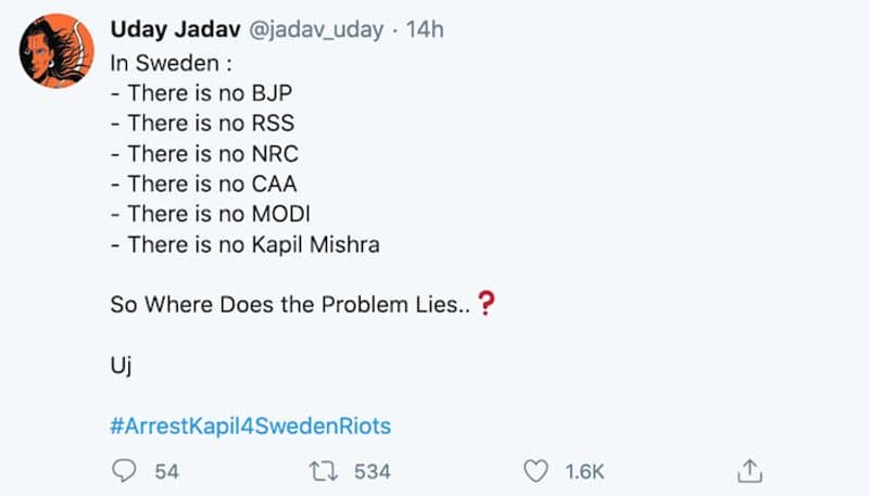 Sweden riots: Netizens wonder how riots took place when there are no CAA, NRC or BJP in that nation!