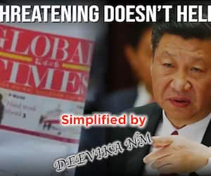 China continues to threaten India!