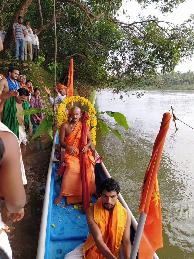 Chaturmasya Pooja of Pejawar Swamiji concluded