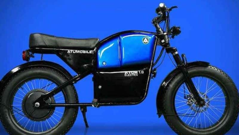 Hyderabad based Automobile startup company set to launch atum 1.0 electric bike