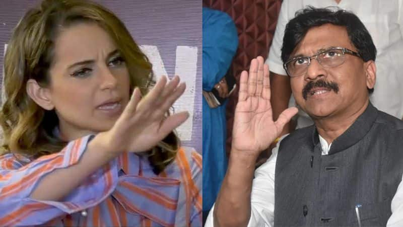 At the receiving end for insulting Kangana Ranaut Sanjay Raut creates new meaning for haramkhor