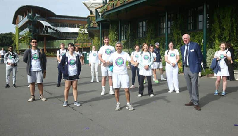 Covid heroes invited play Wimbledon tennis courts London thanks key workers apc