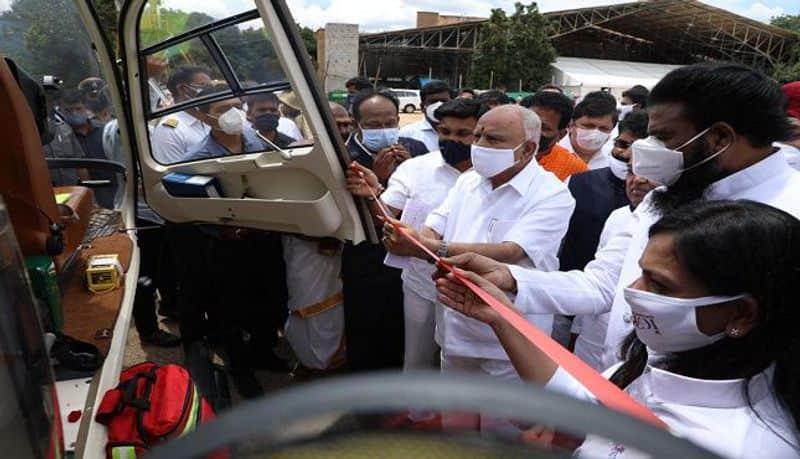 Bengaluru gets first air ambulance with COVID-19 pod -ymn