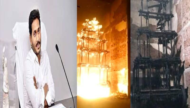 CBI Inquiry on antarvedi chariot fire accident