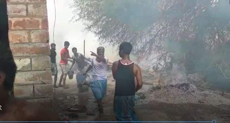 Clash between two antisocial group at Nadia ASB