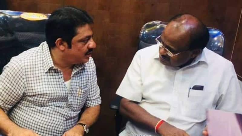 Congress Leader Zameer Ahmed Khan Talks Over HD Kumaraswamy grg