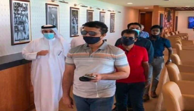 Sourav Ganguly start inspection at UAE of IPL 2020 preparations spb