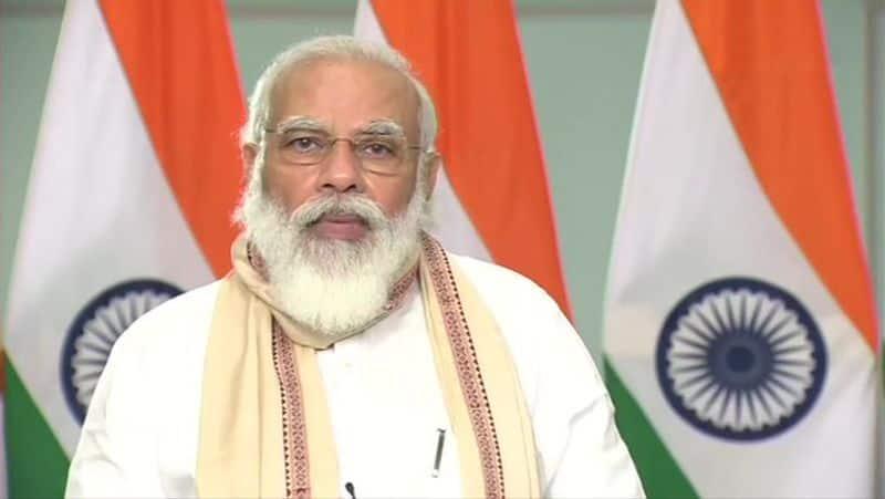Bihar  PM Modi inaugurates historic Kosi Rail Mahasetu