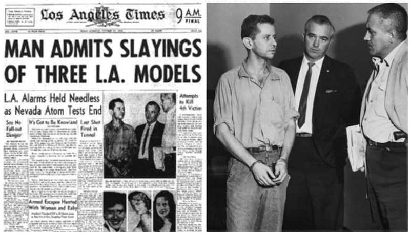 Harvey Glatman the serial killer who raped at gun point, tied up and choked victims to death
