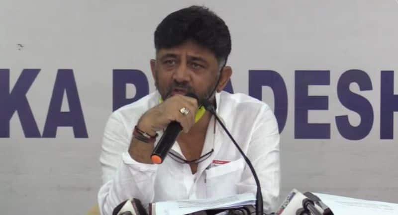 dk shivakumar Writes To Karnataka Election commissioner Over Local Body Elections rbj