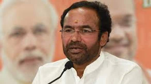 union minister Kishan Reddy writes letter to KCR lns